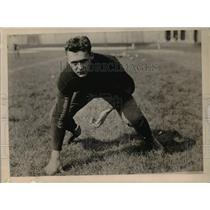 1924 Press Photo Ascher of University of Minnesota Football Team 1924