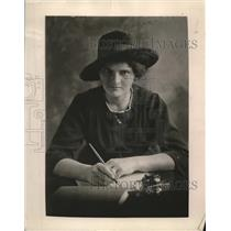 1919 Press Photo Madame Louisa Landova Styechova journalist of Czec