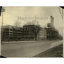 1921 Press Photo H.D. plant from Northwest Corner