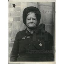 1923 Press Photo Emma Westbrook, Salvation Army Worker