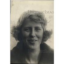 1920 Press Photo Miss Lola Wallin of Rockford