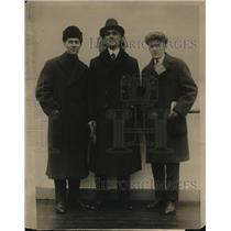 1915 Press Photo M M Abbott, Hampton A Steele & Donald M Love on Frederick LLI