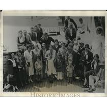 1931 Press Photo Refugees of Nicaragua Arrive at New Orleans