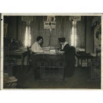 1918 Press Photo Ms Isabel Stettinius & Phyllis Brown
