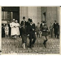 1926 Press Photo Crown Prince Adolphus of Sweden and his wife