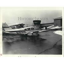 1984 Press Photo Dr. Frederick Holiday at Aviation High School