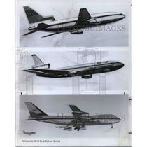 1970 Press Photo Airplanes Boeing 747 - cva21935