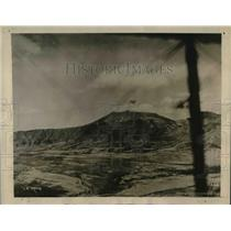 1927 Press Photo The plane view of the Agua volcano in Guatamela