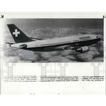 1985 Press Photo Airbus Industries A310