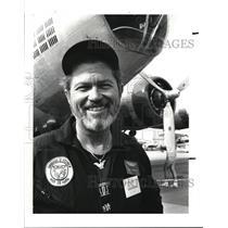 1987 Press Photo The War Birds of America pilot William Harrison