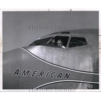 "1963 Press Photo Jet Veteran ""Ernie"" Dryer retires today at age 60"
