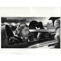 1984 Press Photo Leo Laudenslager Stunt Flier Prepares for Take Off