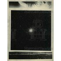 1929 Press Photo A star cluster in the constellation Archer.
