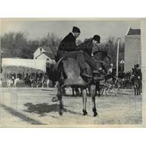 1936 Press Photo The first Mule Rodeo in Missouri
