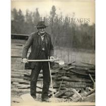 1927 Press Photo Francis Hughes, 102 years old of Tenn