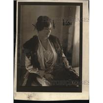 1925 Press Photo Mrs John L. McGuin Chief of Public Health and Police Commisione
