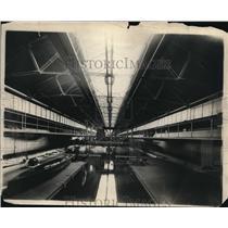 1919 Press Photo Experimental Model Basin at the Washington Navy yard