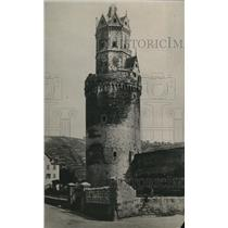 1918 Press Photo The Andernach Watch Tower in Germany