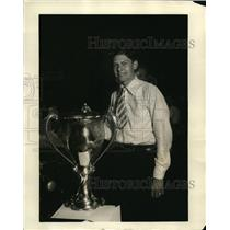 1930 Press Photo Fred Tidwell, high school student
