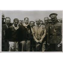 1931 Press Photo American airmen Russell Boardman, John Polando non stop flight