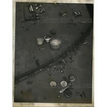 1937 Press Photo View of Louisville Kentucky