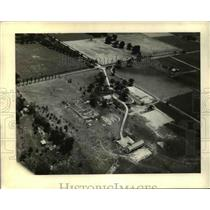 1931 Press Photo Airview of the Palmer Ball Home of St.Matthew, Kentucy