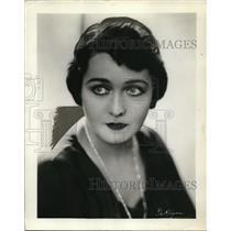1931 Press Photo Grace Hays