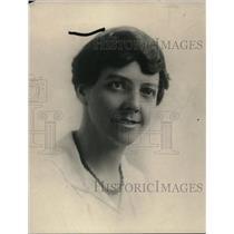 1919 Press Photo Gertrude Price