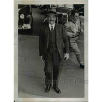 1938 Press Photo Washington DC Count De Saint-Quentin, French Ambassador to