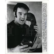 1971 Press Photo Claremont Calif Dennis Shaw of Buffalo Bills - nes23613