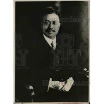 1919 Press Photo Kijuro Shidehara Japanese Ambassador To the United States
