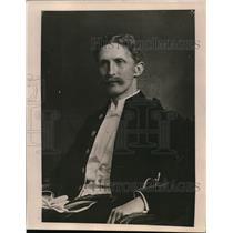 1919 Press Photo Sir George Paish editor of London Statist