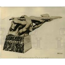 1930 Press Photo Ansaldo Trophy Won Again by Hudson in Tour de France