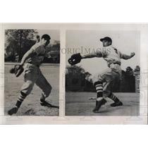 1948 Press Photo Kenneth Thompson Pitcher at Windsor North Carolina High School