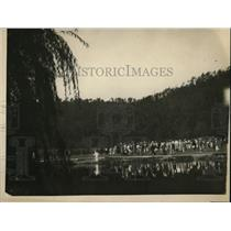 1922 Press Photo Mrs William A. Gavin plays in Women's Nat. Golf Championship