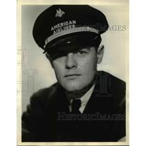 1938 Press Photo W.T.Swain, American Air Lines second pilot - ned53606
