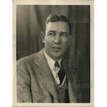1928 Press Photo Portrait of C.J. Matthews
