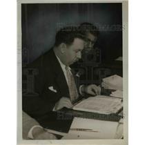 1934 Press Photo O. David Zimring