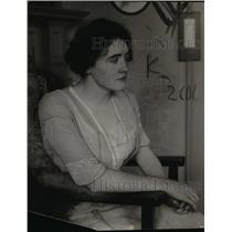 1924 Press Photo Mrs. Dudley Warfield, expert shot