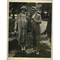 1926 Press Photo Mrs. Richard T. Wilson & Anson Segarola