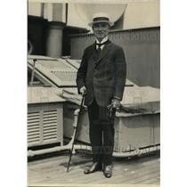 1923 Press Photo Schichita Tatsuke Japan's ambassador to Brazil
