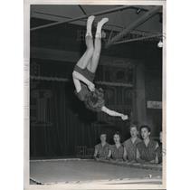 1958 Press Photo Janet Reinke, 16, N. Royalton