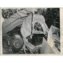 1948 Press Photo Pilot Ward Henderson & Alva Manusen Died in Plane Crash
