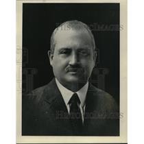 1926 Press Photo Bridge Expert, Wilbur C. Whitehead