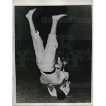 1937 Press Photo Professor G. Murakami heads the Jiu Jitsu in Los Angeles