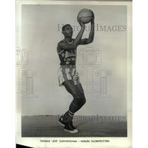 1967 Press Photo Thomas Joe Cunningham Harlem GlobeTrotters
