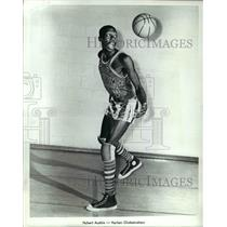 1971 Press Photo Hubert Ausbie Harlem Globetrotters