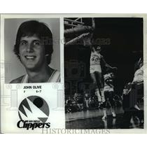 Press Photo John Olive, San Diego Clippers forward