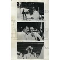 1922 Press Photo Final Inauguration of Theodore Roosevelt in Phililipine Islands