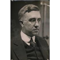 1912 Press Photo Edward A Evans press man